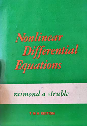 9780898740561: Nonlinear Differential Equations