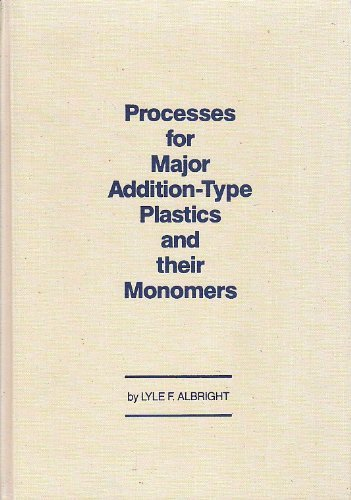 9780898740745: Processes for Major Addition-Type Plastics and Their Monomers