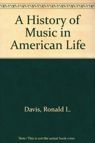 9780898740806: A History of Music in American Life