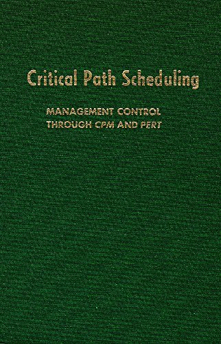 9780898740899: Critical Path Scheduling: Management Control