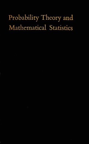 9780898741797: Probability Theory and Mathematical Statistics