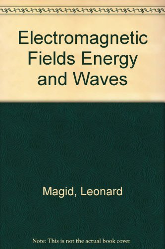 9780898742213: Electromagnetic Fields Energy and Waves