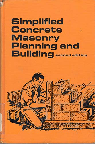 9780898742787: Simplified Concrete Masonry Planning and Building