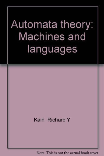 9780898743227: Automata theory: Machines and languages