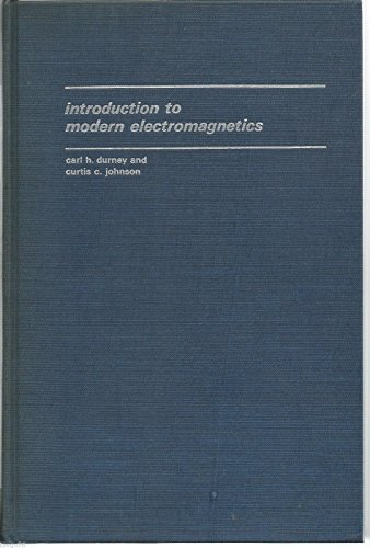 9780898743333: Introduction to Modern Electromagnetics