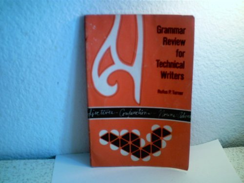 9780898743791: Grammar Review for Technical Writers