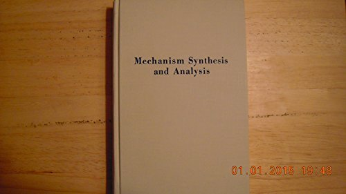 9780898743807: Mechanism Synthesis and Analysis: An Individualized Approach