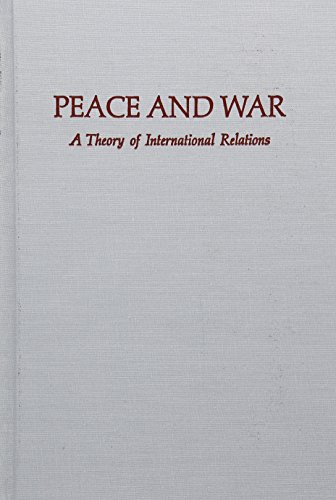 9780898743913: Peace and War: A Theory of International Relations