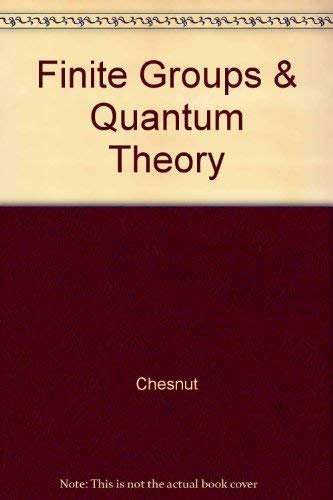 9780898744682: Finite Groups and Quantum Theory