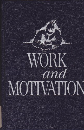 9780898745276: Work and Motivation