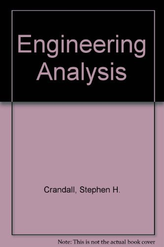 9780898745771: Engineering Analysis: A Survey of Numerical Procedures