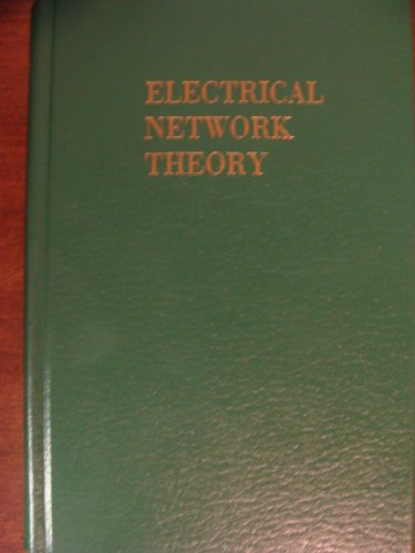 9780898745818: Electrical Network Theory