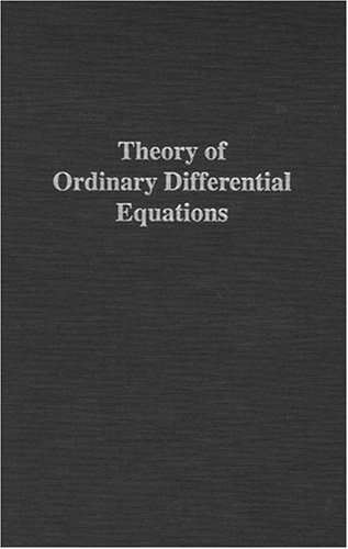 9780898747553: Theory of Ordinary Differential Equations