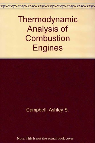 9780898747744: Thermodynamic Analysis of Combustion Engines