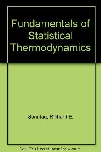 9780898747850: Fundamentals of Statistical Thermodynamics