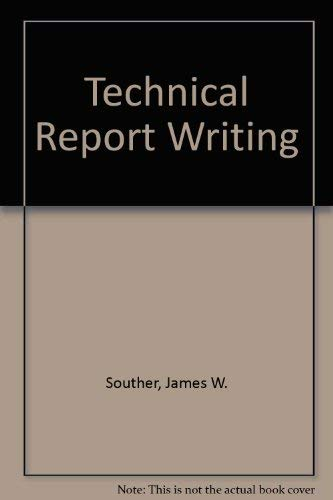 TECHNICAL REPORT WRITING. Second Edition.