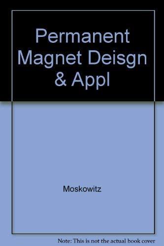 9780898748635: Permanent Magnet Deisgn & Appl