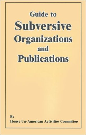 9780898752090: Guide to Subversive Organizations and Publications: And Appendixes