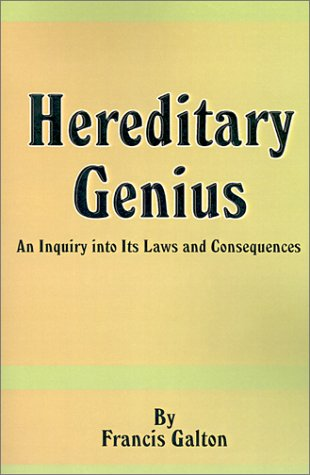 9780898755855: Hereditary Genius: An Inquiry Into Its Laws and Consequences