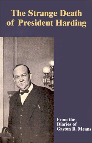 9780898755978: The Strange Death of President Harding