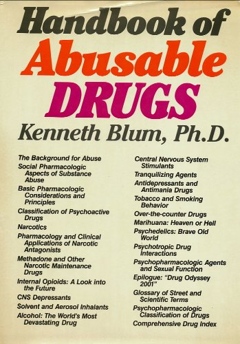 9780898760361: Handbook of Abusable Drugs
