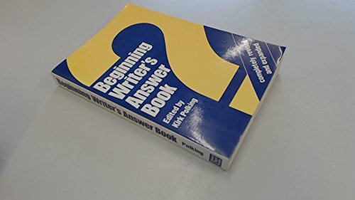 9780898792638: Beginning Writer's Answer Book