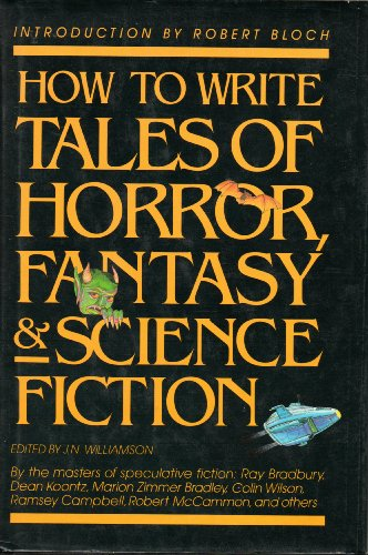 9780898792706: How to Write Tales of Horror, Science Fiction and Fantasy