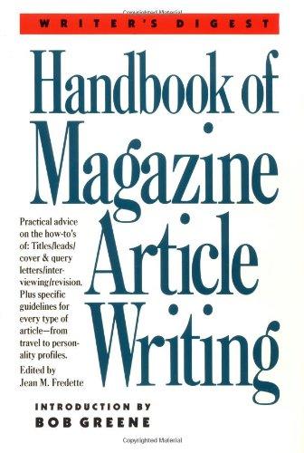 9780898794083: Writer's Digest Handbook of Magazine Article Writing