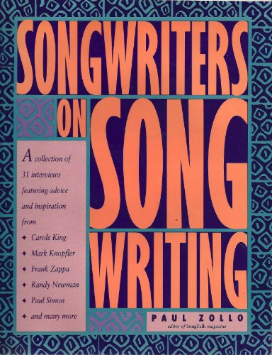 9780898794519: Songwriters on Songwriting