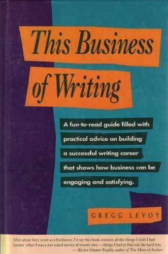 9780898795059: This Business of Writing
