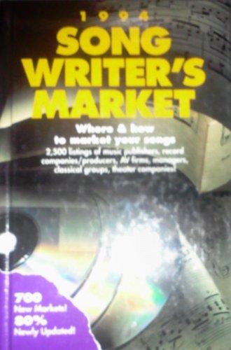 9780898796100: Songwriter's Market 1994