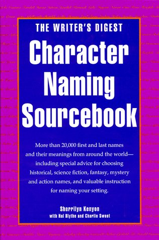 9780898796322: The Writer's Digest Character Naming Sourcebook