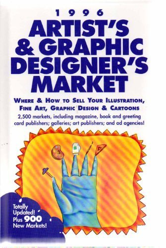 9780898797107: 1996 Artist's & Graphic Designer's Market: Where & How to Sell Your Illustration, Fine Art, Graphic Design & Cartoons