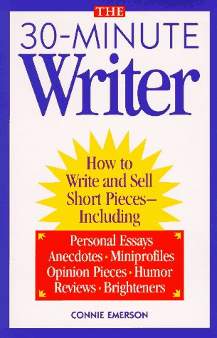 9780898797602: The 30-Minute Writer