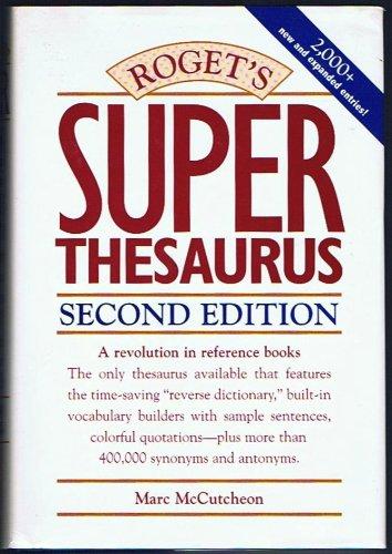 9780898798654: Roget's Superthesaurus