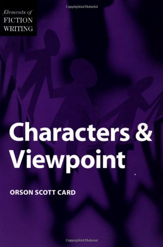 9780898799279: Characters and Viewpoint (The elements of fiction writing)