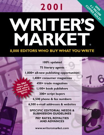9780898799774: Writer's Market 2001: 8000 Editors Who Buy What You Write