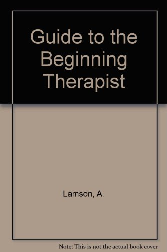 9780898852936: Guide to the Beginning Therapist