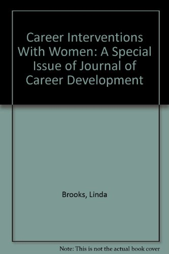 9780898854312: Career Interventions With Women: A Special Issue of Journal of Career Development