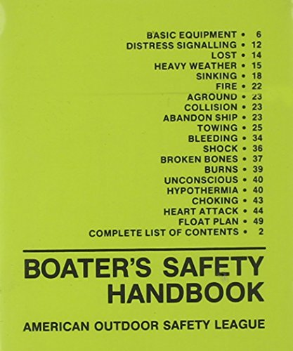 Boater's Safety Handbook: American Outdoor Safety