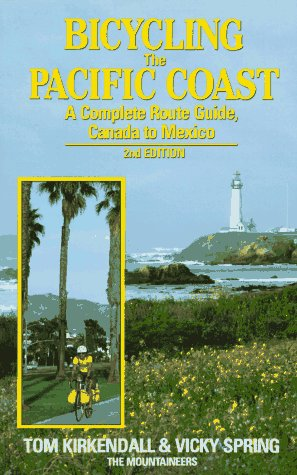 9780898862324: Bicycling the Pacific Coast: A Complete Route Guide, Canada to Mexico