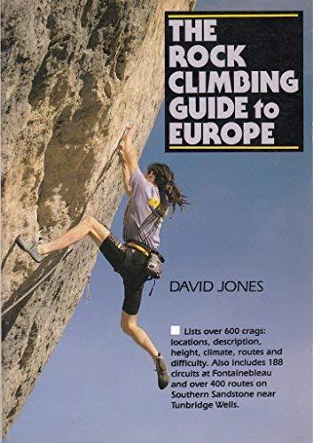 The Rock Climbing Guide to Europe (9780898862911) by David Jones