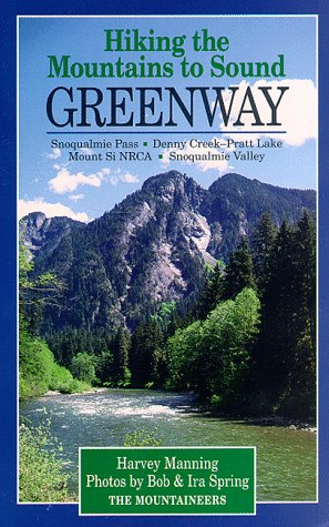 9780898863697: Hiking the Mountains to Sound: Greenway