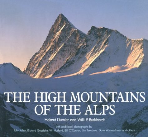 9780898863789: The High Mountains of the Alps