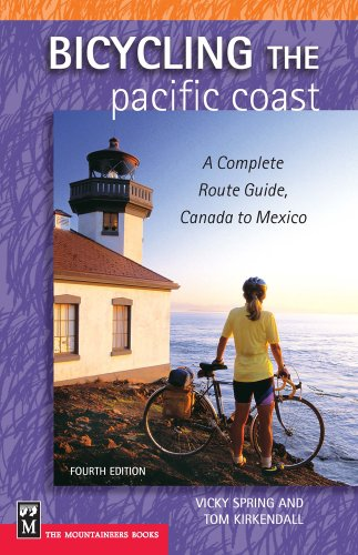 9780898869545: Bicycling The Pacific Coast: A Complete Route Guide, Canada To Mexico