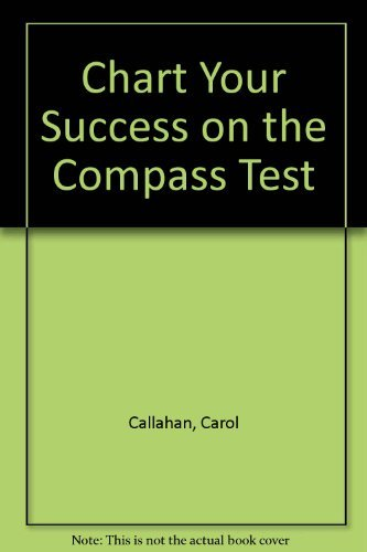 9780898921533: Chart Your Success on the Compass Test