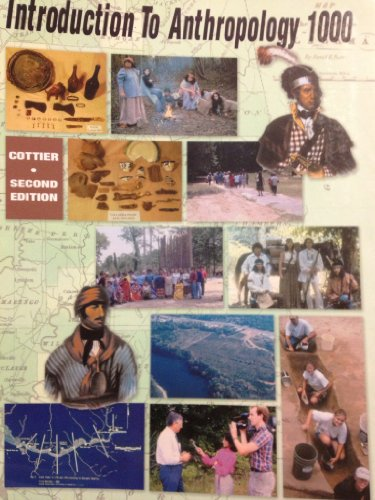 9780898923506: Introduction to Anthropology 1000 Second Edition
