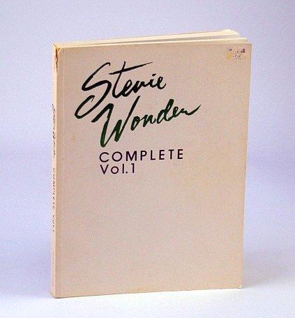 9780898980127: Stevie Wonder Complete Volume 1