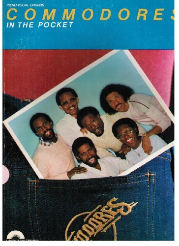 Commodores In The Pocket Songbook P/V/G: Commodores