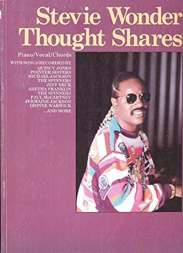 Thought Shares Piano/Vocal/Chords: Wonder, Stevie